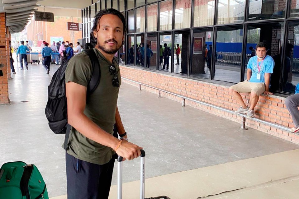 Nepal International Rohit Chand Flying To Indonesia