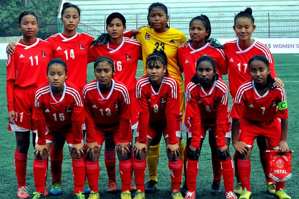 Nepal U16 Women's Team