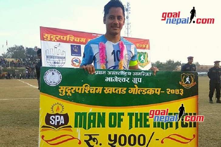 MMC Skipper Anil Gurung Declared MVP; Receives One Motorbike