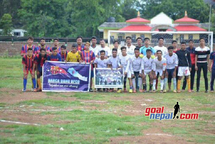 Tulsipur: Real Madrid Fans Club Dang Beats Barca Nepal Dang In A Friendly Match