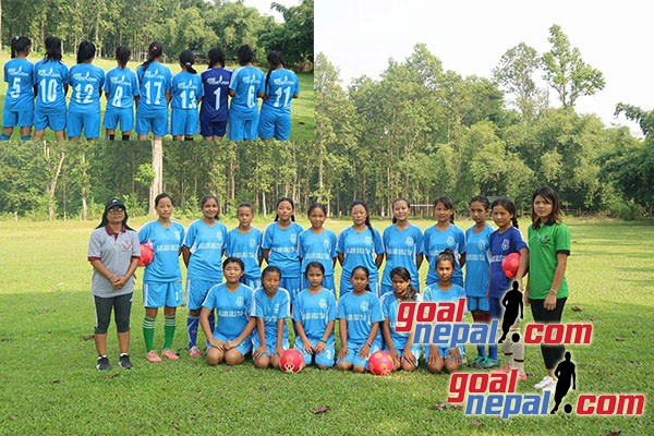 GoalNepal Foundation Donates A Set Of Jersey, Footballs To Baklauri Girls Team With The Support From Gurkhas Dallas