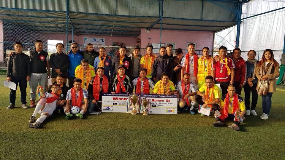 Deep United A Wins Title Of Veteran Futsal Championship