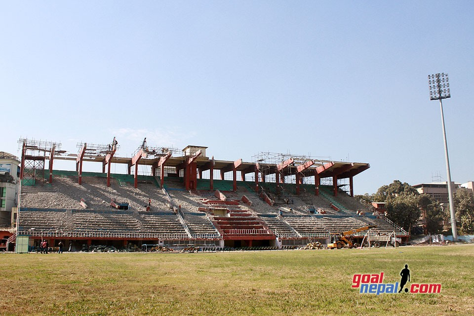 Will It Be Ready By 2019 ? Latest Pictures From Dashrath Stadium