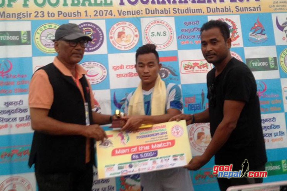 2nd Manmohan Memorial Duhabi Gold Cup: MMC Beats Church Boys United To Enter Final