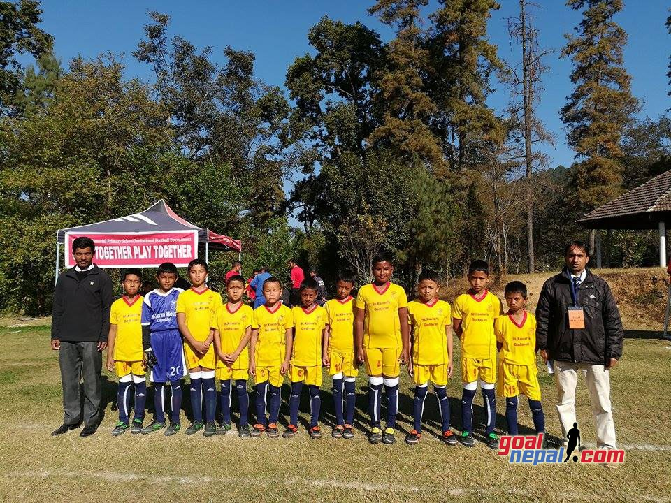 Lalitpur: Moran Memorial, St. Xavier's School Jawalakhel Victorious In 22nd Father Moran Memorial Football Tournament