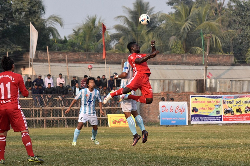 2nd Manmohan Memorial Duhabi Gold Cup: MMC Vs Church Boys United Photo Feature