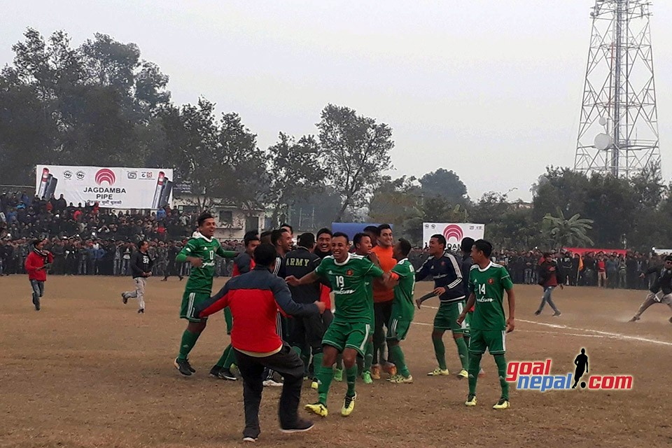 Nepal Army Beats Nepal APF To Win Title Of 2nd Far West Khaptad Gold Cup