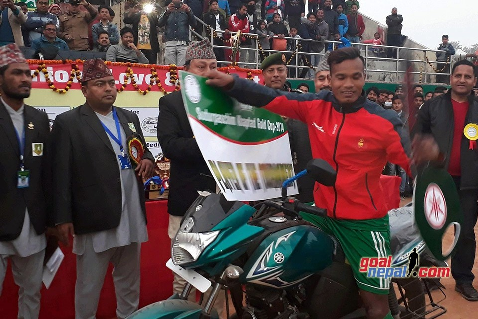 2nd Far West Khaptad Gold Cup: Bharat Khawas Declared The Most Valuable Player Of The Tournament