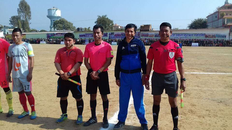 Dang: 28th National Sports Council Men's Football Kicks Off; Nepal APF, Far Western Register Win