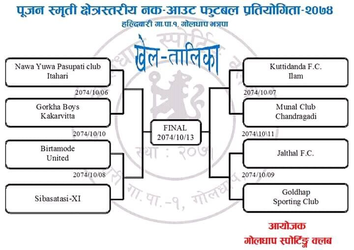 Jhapa: Pujan Memorial Knockout Championship From Saturday