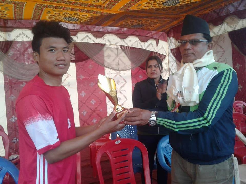 Morang: 1st Urlabari Mayor Cup Kicks Off; Ward Number Six Beats Ward Number Two In The Opener