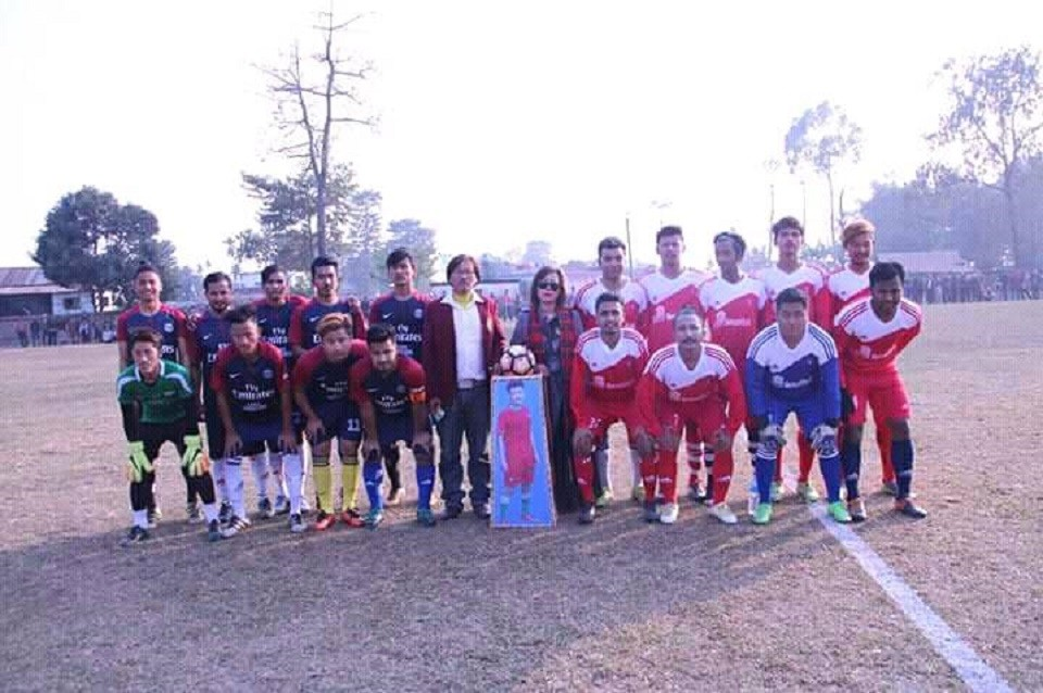 Jhapa: Pujan Memorial Knockout Championship Kicks Off; Nawa Yuwa Pashupati Club Itahari Beats Gorkha Boys In The Opener