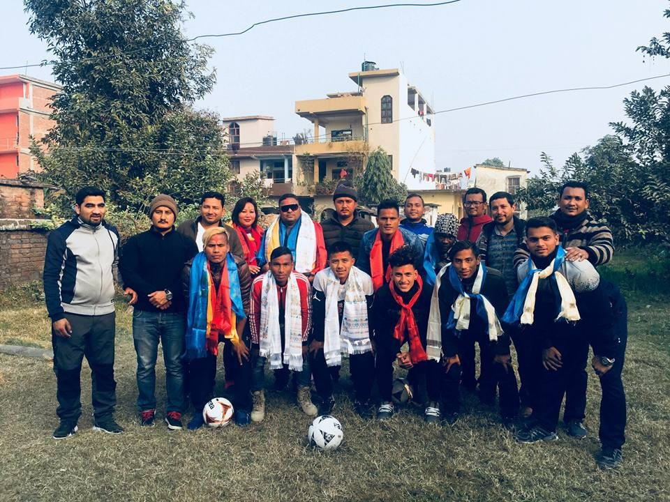Kailali: Far West XI Sports Club Leave Dhangadhi For Pokhara