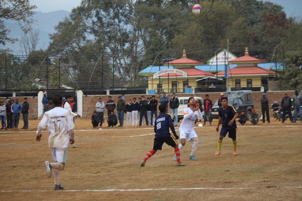 Dang: Gyan Jyoti, Gorahi Gorkha College & Rapti Babai Register Win In Inter College Football Championship