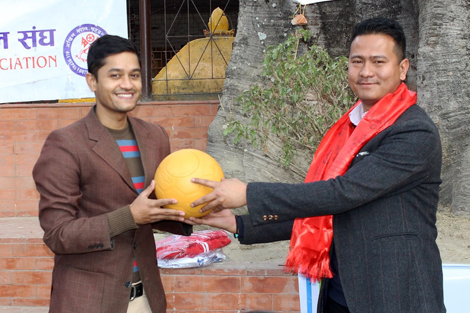 Childreach Nepal Joins Hands With GoalNepal; Provides 30 Indestructible Footballs