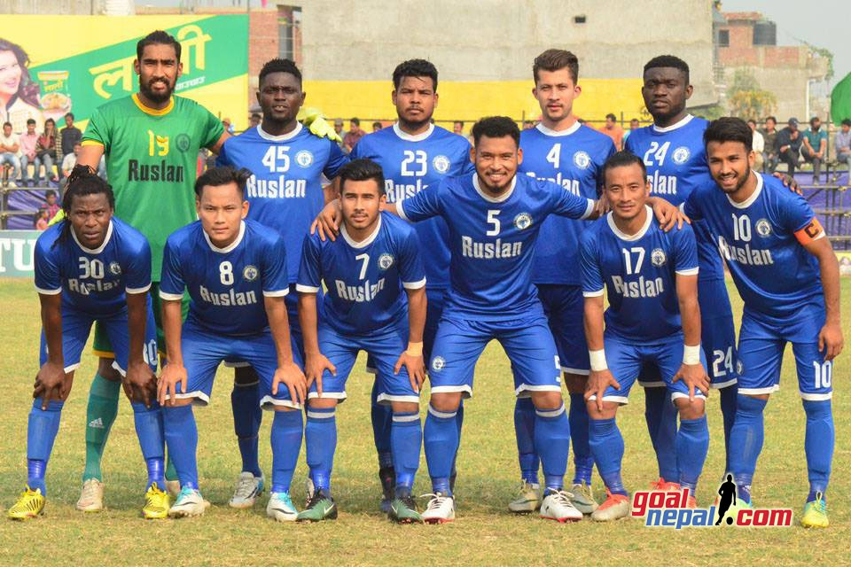 20th Tilottama Gold Cup : Ruslan Three Star Club Sets Final Date With Nepal Police