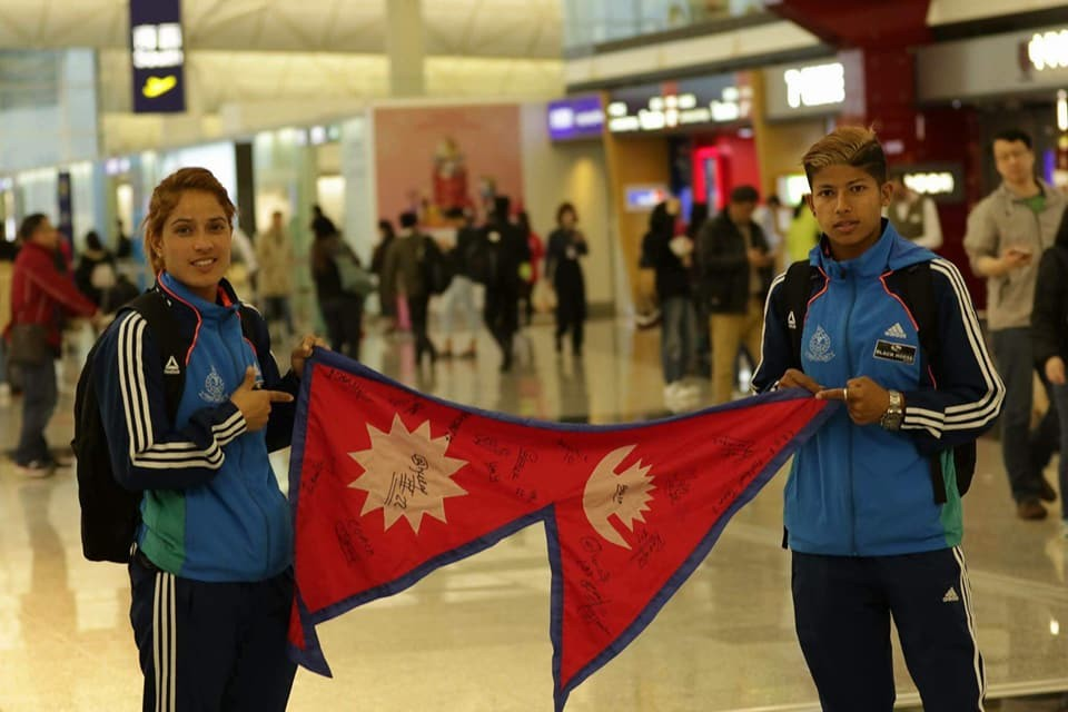 Nepal International Duo Sabitra Bhandari & Anita Basnet Flying To Maldives