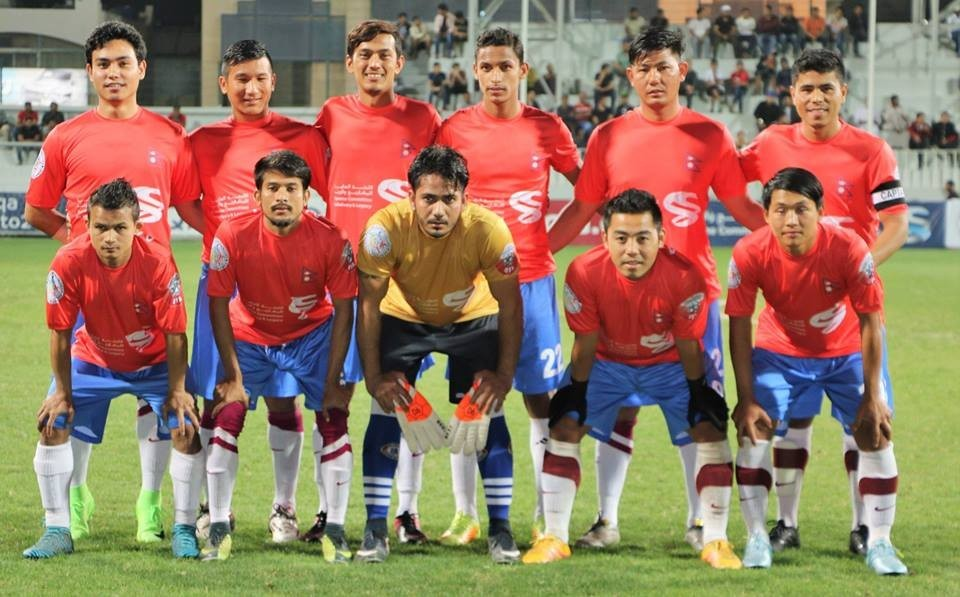 Nepali football Team Qatar Versus Lebanon Community Team Semis Match Abandoned Due To Crowd Trouble