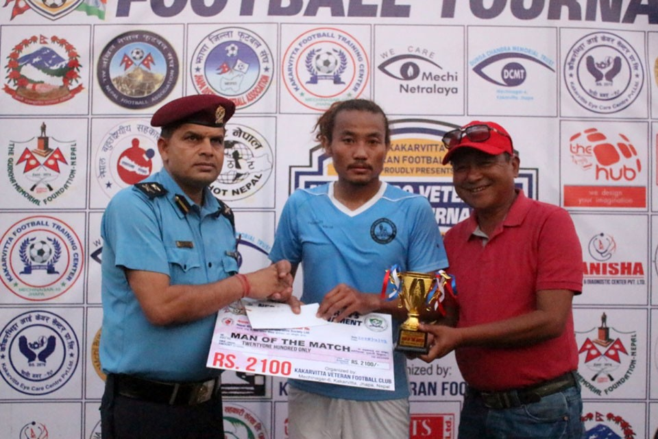 Jhapa: Birtamod Veterans Enter Final Of Nepal-Indo Veterans Championship
