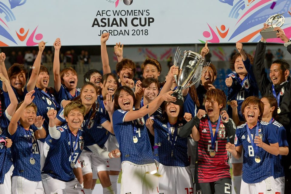 AFC President Congratulates Japan For Winning AFC Women's Asian Cup Jordan 2018