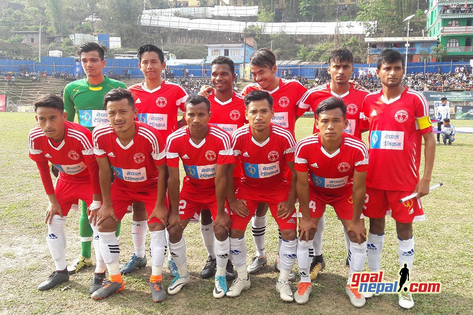 4th Mai Valley Gold Cup: Nepal Police Club  Into QFs