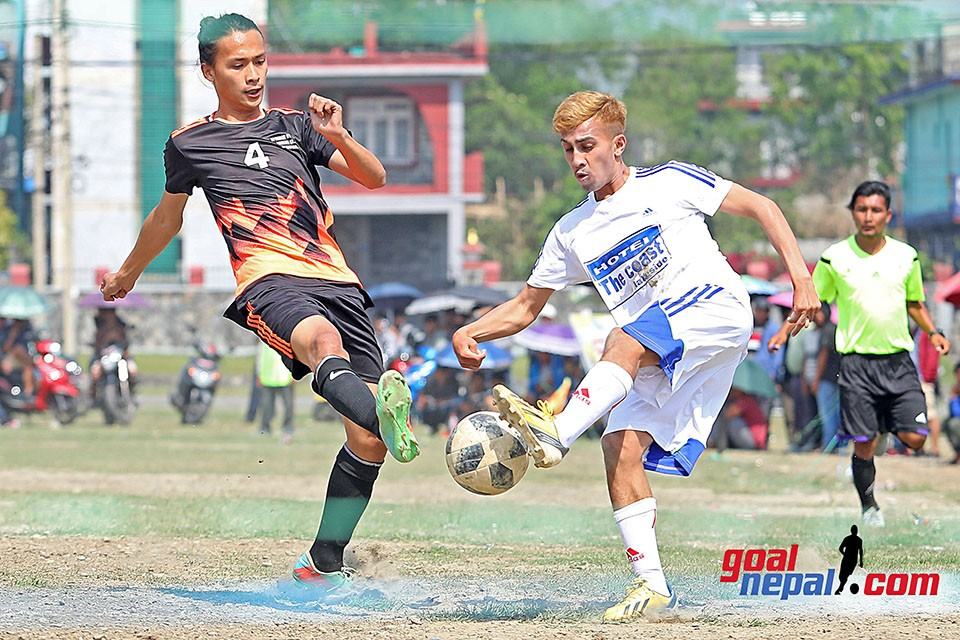 Kaski: B-13, Lakeside FC & Sangam FC Enter QFs In 1st Bishnu Kumari Gurung Memorial 7-A-Side Tournament