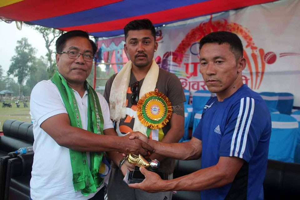 Jhapa: Shiva Satashi Veteran Trounces Ward Number 5 In Shiva Satashi Mayor Cup