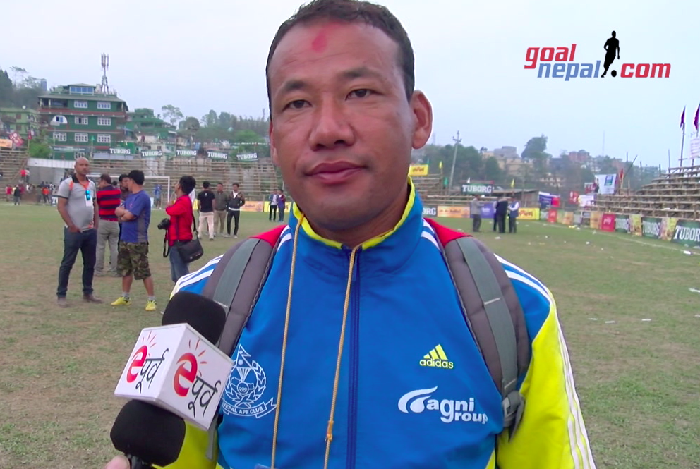 Nepal APF Coach Ganesh Lawati: It Was Like Final Match Against Jhapa !
