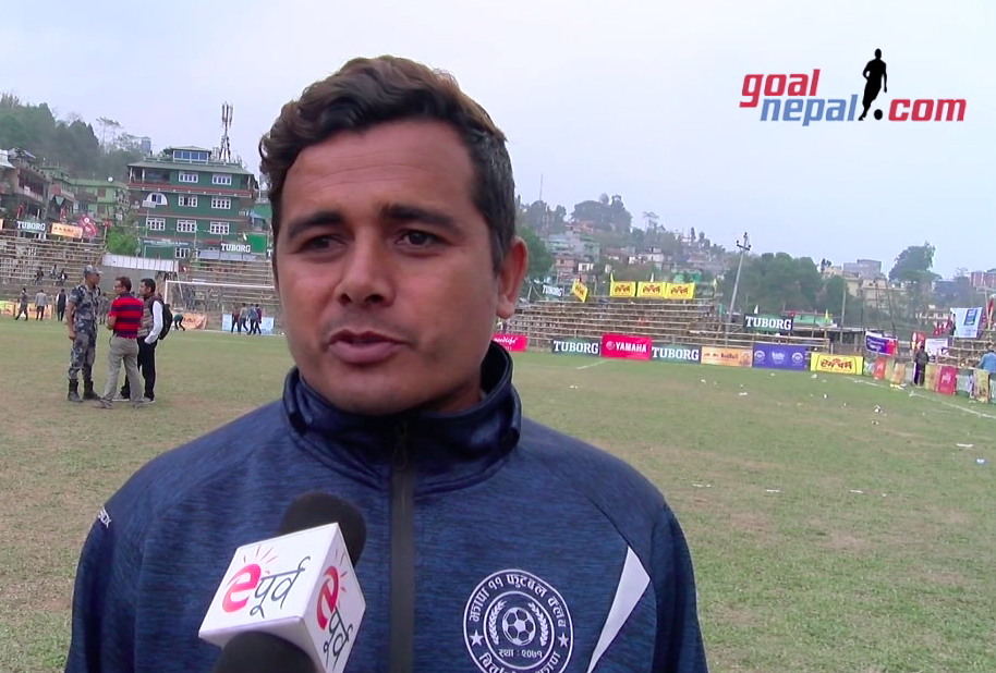 Jhapa XI Coach Prabesh Katuwal: We Had Bad Preparation !