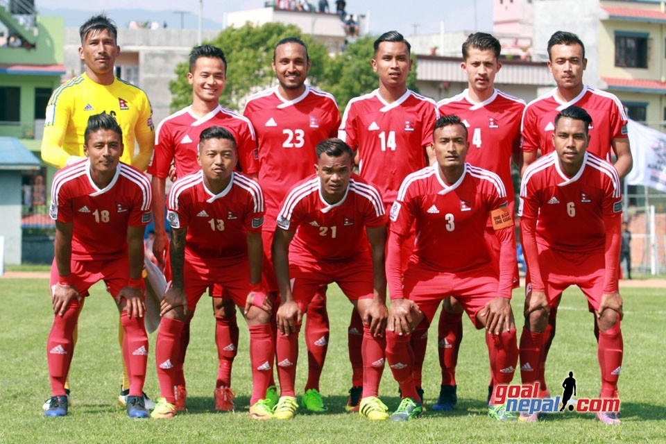 Nepal Drops Two Position Down To 164 In FIFA World Ranking
