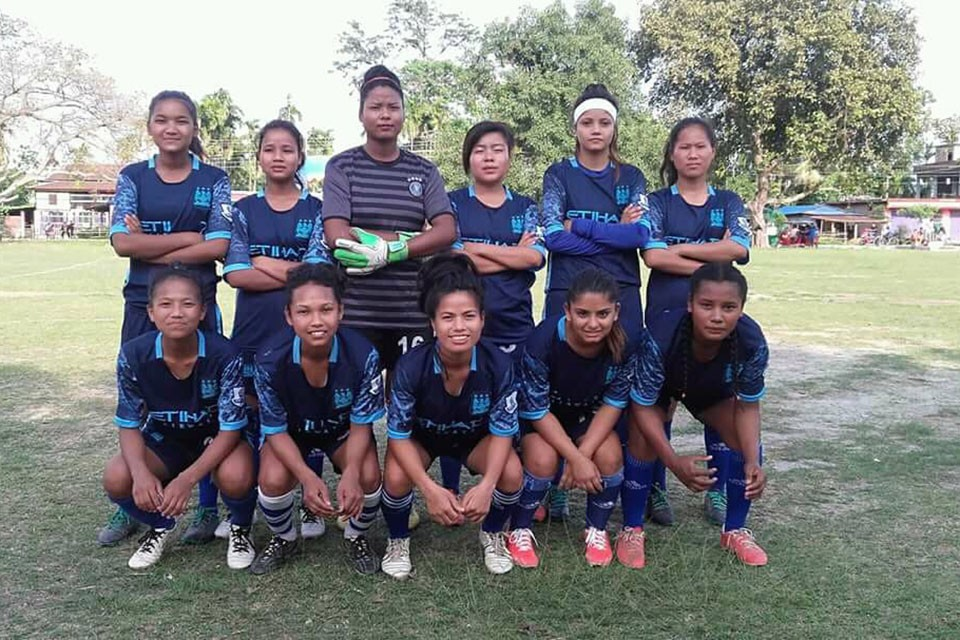 Parijat ladies FC Enters Final Of 1st Sunshine Women's Championship