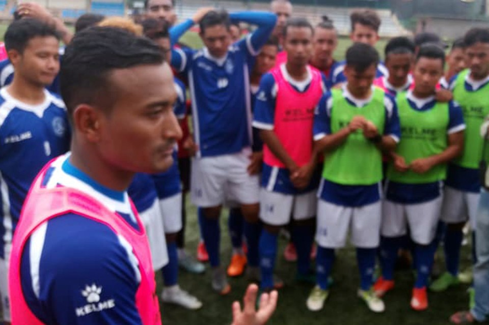 Sports Minister Jagat Bishwokarma Meets National Team Players; Players Ask About Their Due Prize Money