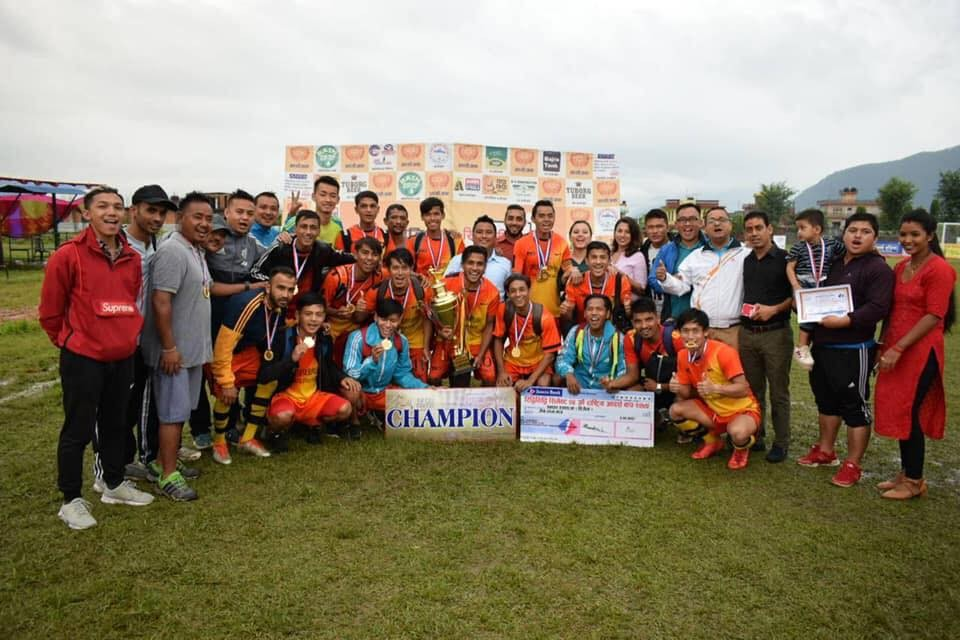 Kaski: Syangja DFA Wins Title Of Ridhi Sidhi Cement 24th Adarsha Cup