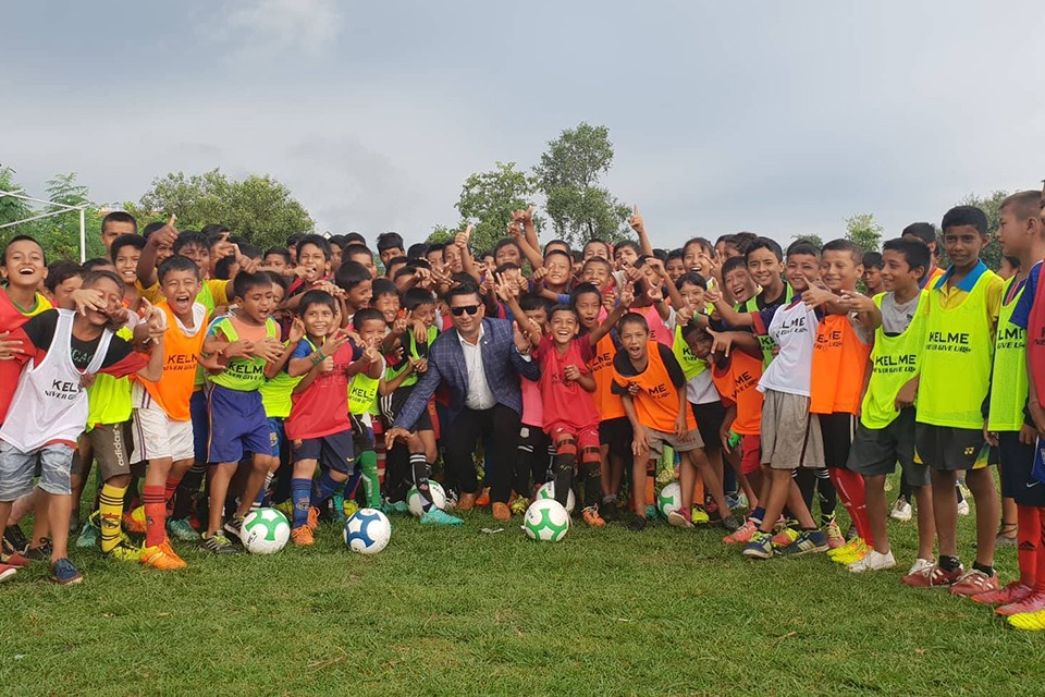 More Than 6000 Players Kick The Ball Under ANFA's Grassroots Football Program