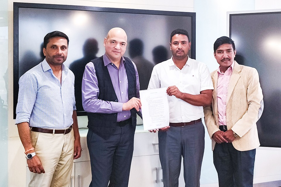 Pulsar Motorbike Strikes Title Sponsorship For Martyr's Memorial A Division League