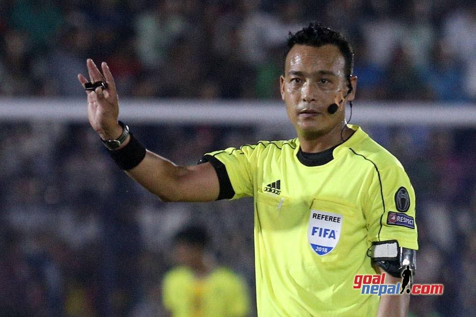 FIFA Referee Shrawan Lama Heads Towards Agra India To Officiate Matches In Asian School U18 Championship
