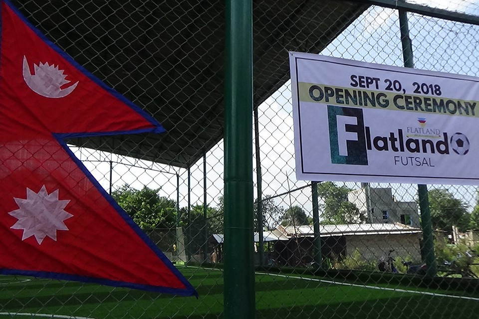 Dhangadhi: Flatland Futsal Court Inaugurated