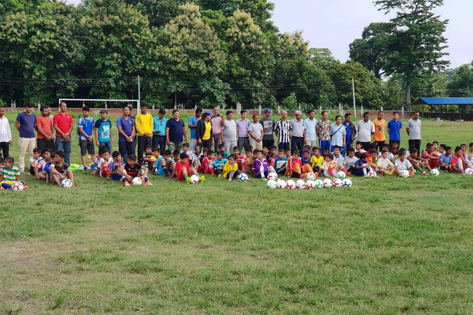 More Than 300 Kids Participate In Bara Grassroots Program