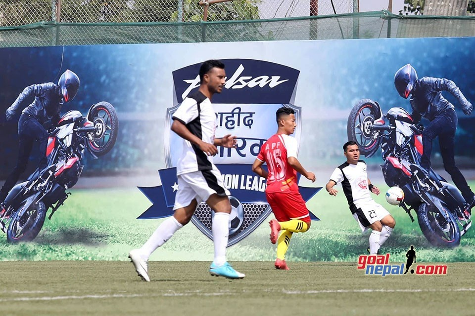 Martyr's Memorial A Division League: Himalayan Sherpa, APF Share Spoils