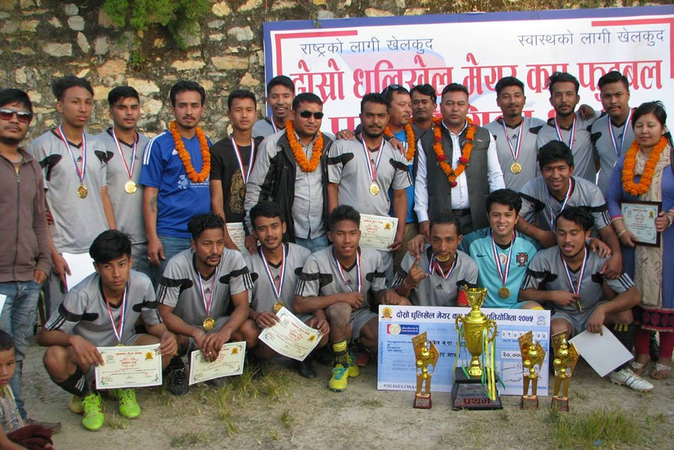 Kavre: Ward Number 6 Wins Title Of Dhulikhel Mayor Cup