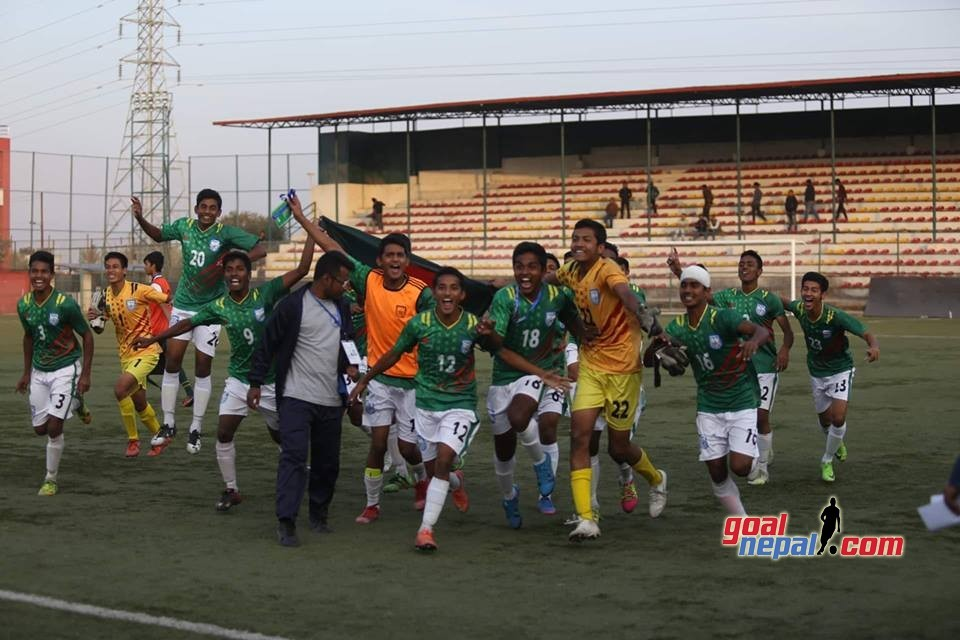 Bangladesh U15 Wins Title Of SAFF U15 Championship