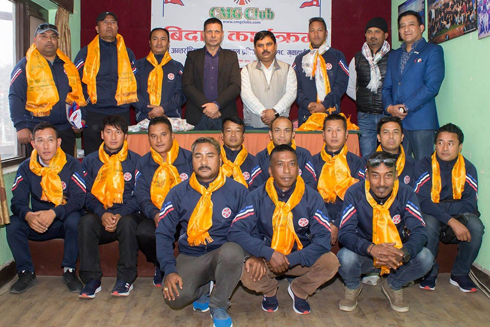 CMG Veterans Are Off To Guwahati
