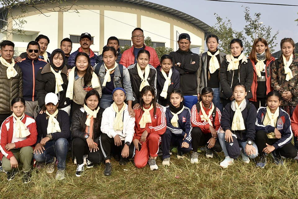 Gandaki Province Women's Team Off To Kathmandu