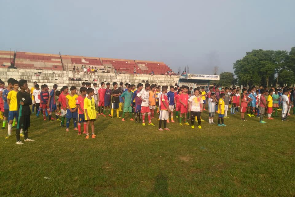 Simara: Bara DFA Grassroots Football Program Officially Inaugurated