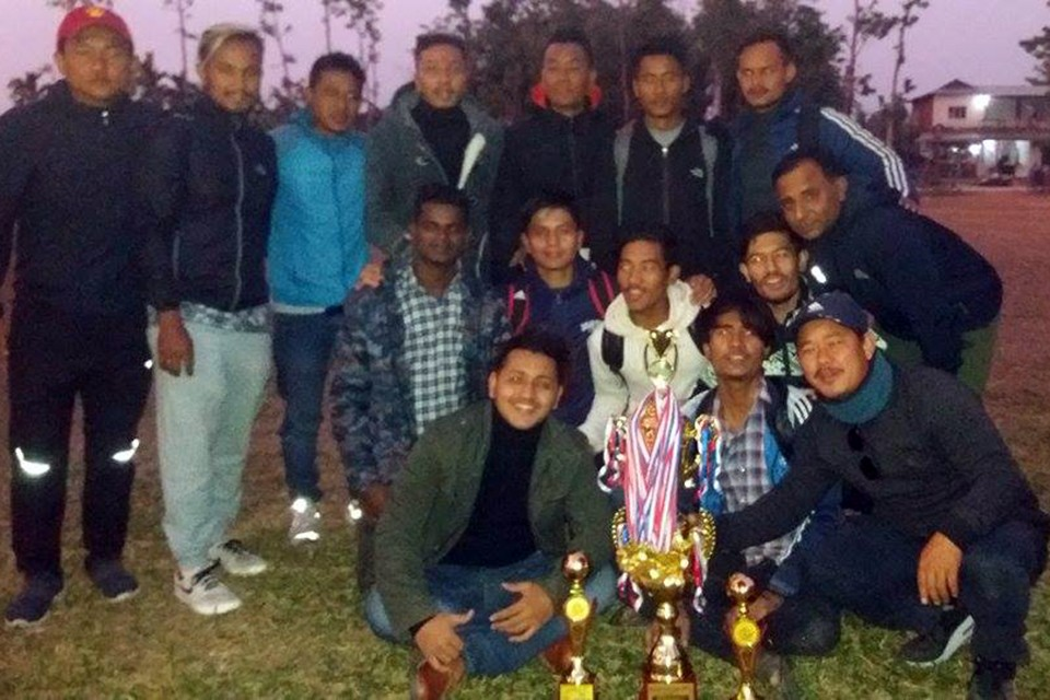 Jhapa: Birtamod United Lifts Title Of Adarsha Dhimal Cup