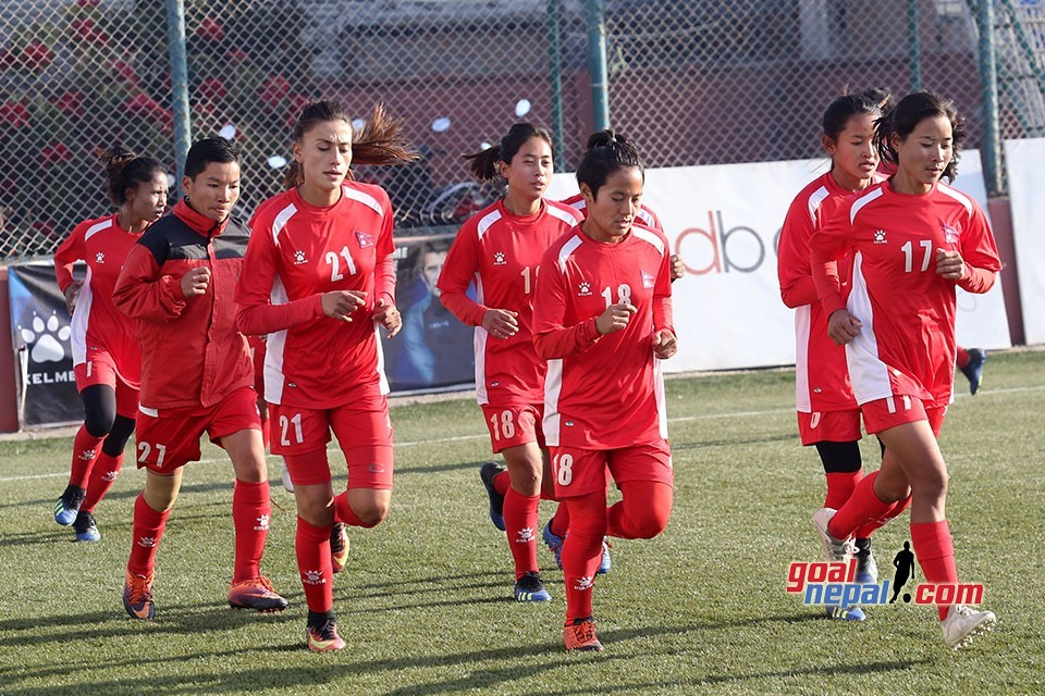 Nepal National Women Team's Solid Prep Begins
