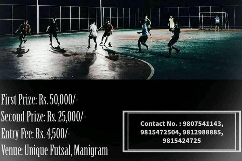 Rupandehi: Tilottama Open Futsal On Poush 21-22