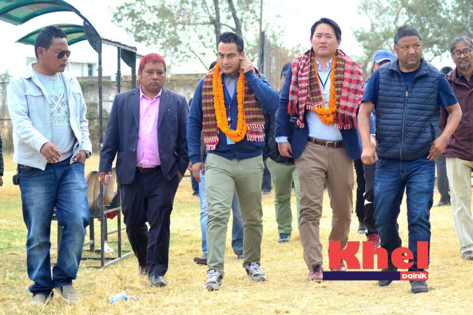 Japan International Cooperation Agency Holding GK Coaching Course In Butwal