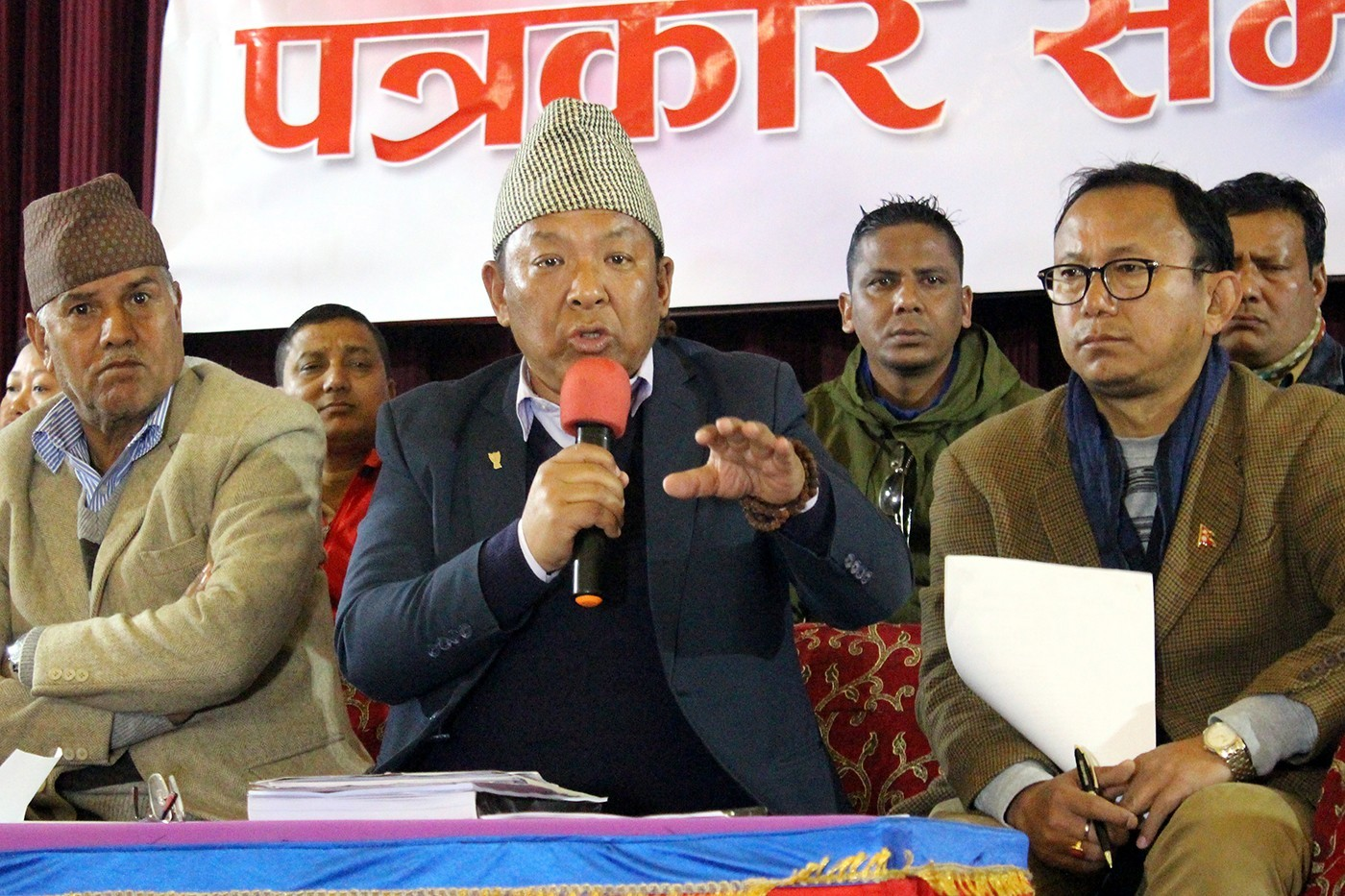 ANFA Prez Karma Tsering Sherpa : Where Are KELME Gears Worth 40 Lakh ?