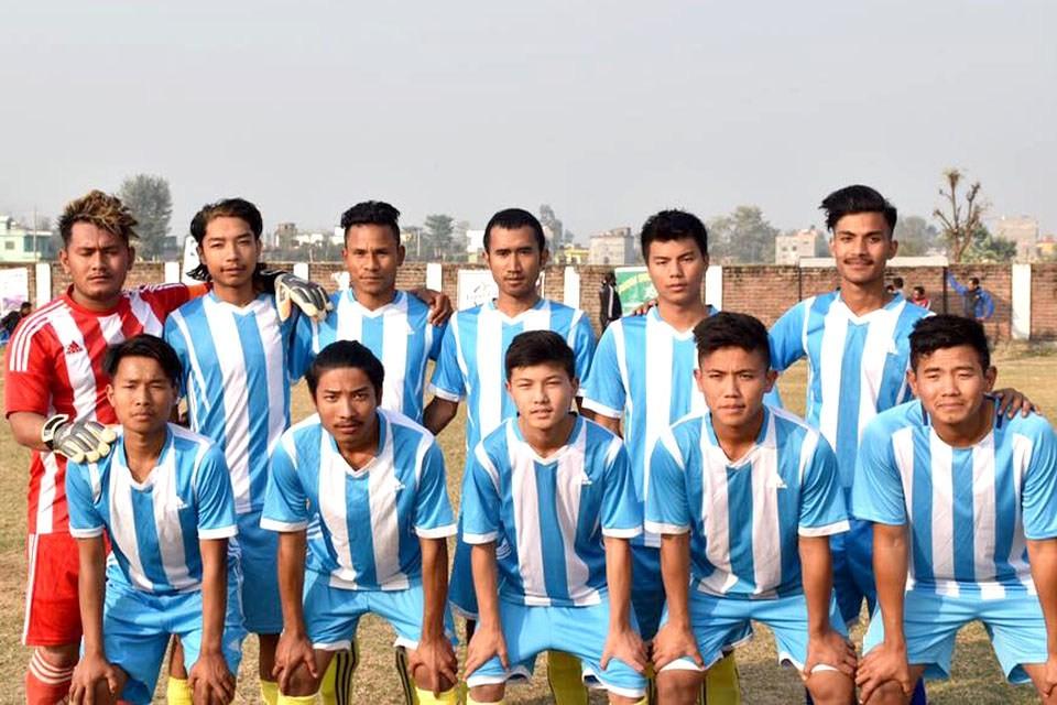 Rupandehi: Bishwo Shanti Yuwa Club Enters QFs Of 6th Pharsatikar Cup